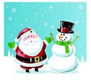 Santa&Frosty