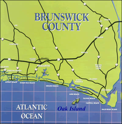oak island green and blue map