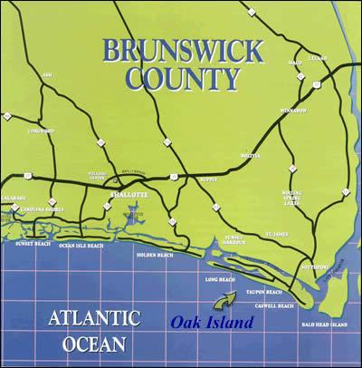 oak island green and blue map