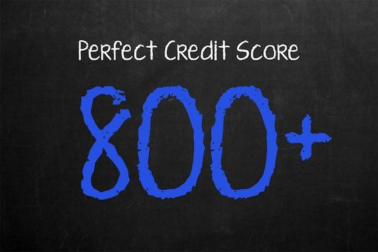 Perfect Credit Score 800+