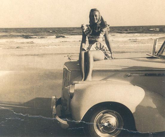 Rae Sloane at Ocean Isle Beach, North Carolina