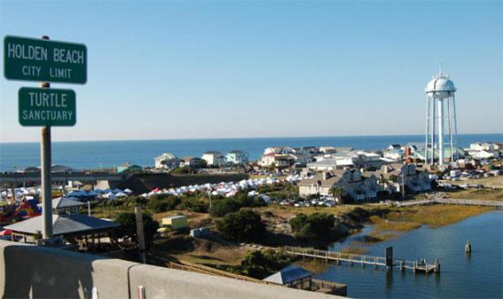Top Retirement area in Holden Beach, in Brunswick County, North Carolina